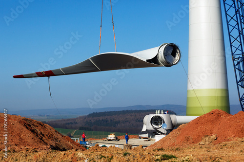 Windmill construction site - 76266447