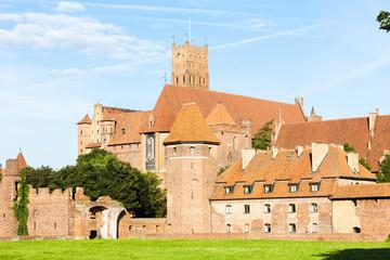 Malbork Castle, Pomerania, Poland