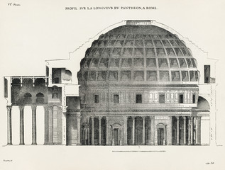 Pantheon in Rome VI