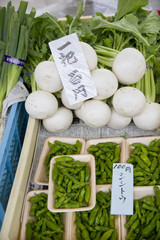 Japanese vegetables market