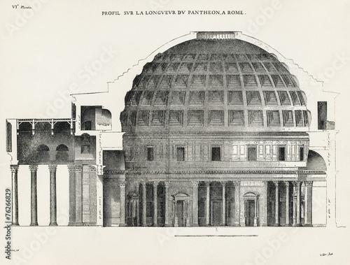 Zdjęcia na płótnie, fototapety, obrazy : Pantheon in Rome VI