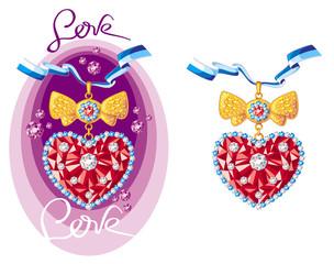 Jewellery hearts