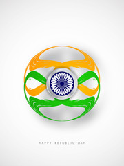 Creative Indian flag theme design