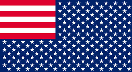 Inverted Flag of the United States.