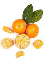 Fresh and sweet manadrins