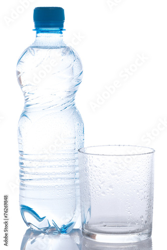Bottle with water - 76269848