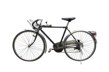 Retro Bicycle. on white background