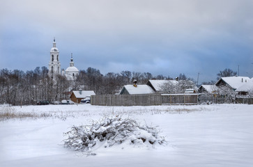 Белая церковь White Church