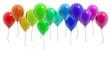 canvas print picture - Ballons bunt