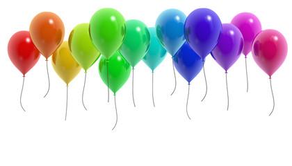 Ballons bunt