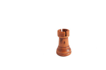 Rook from black set (chess)