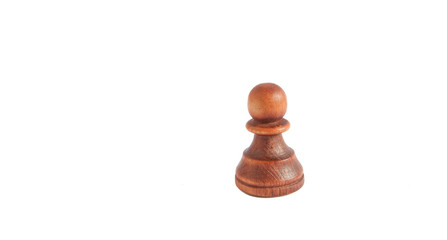Pawn from black set (chess)