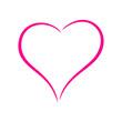 Pink heart - 76273262