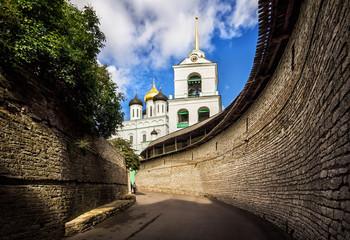 Вход в крепость The entrance to the fortress