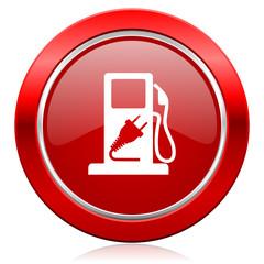 fuel icon hybrid fuel sign