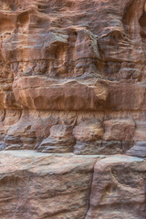Rock Formation in Wadi Rum desert