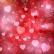 Obrazy na płótnie, fototapety, zdjęcia, fotoobrazy drukowane : Valentine's Day Heart background
