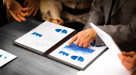 Image of business documents