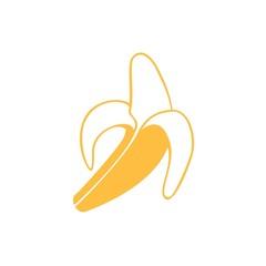 Icono plátano maduro