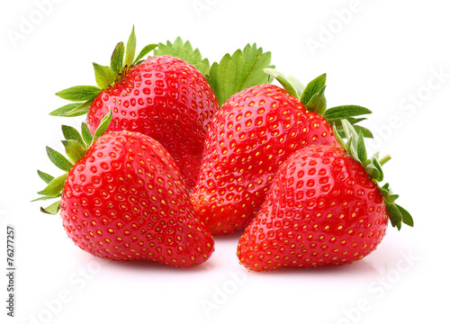 Ripe strawberry Photo by Dionisvera