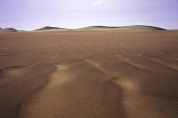Deserto di Paracas. Perù.Onde di sabbia