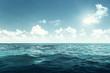 Leinwanddruck Bild - perfect sky and ocean