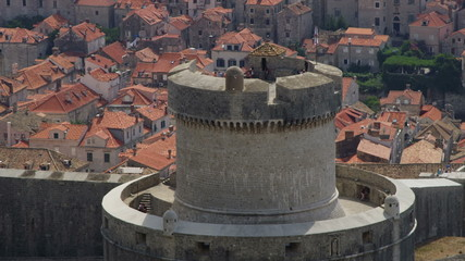 Minceta Tower in Dubrovnik old town