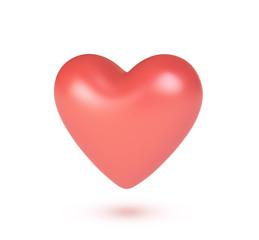 3d valentine heart