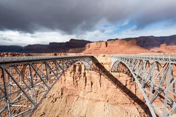 Navajo Bridge over Colorado river, Southwest USA