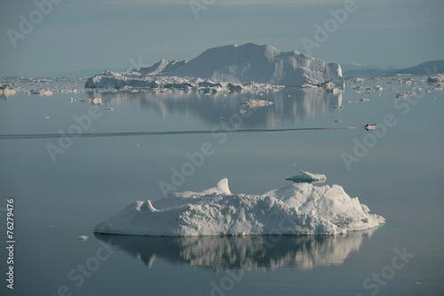 Foto op Plexiglas Antarctica 2 Eisberge in der Diskobucht