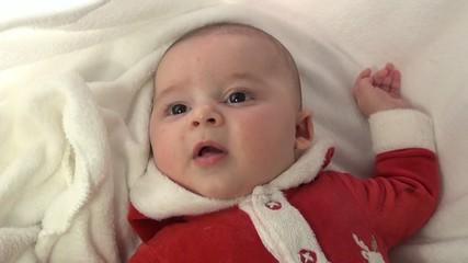 e Baby Santa Claus Babbo Natale neonato