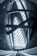 Leinwanddruck Bild - Moving escalator in the business center