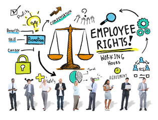 Employee Rights Employment Equality Job Business Concept