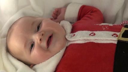 Baby Babbo Natale Santa Claus