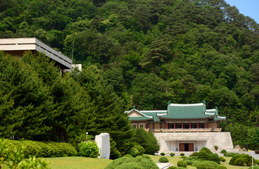 Exhibition Hall, Myohyang Mountain, North-Korea