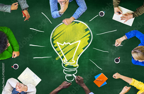 Ideas Thoughts Knowledge Intelligence Learning Thoughts Concept - 76282037