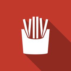 potato fries icon