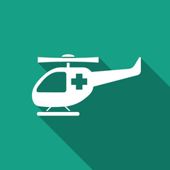 rescue helicopter icon