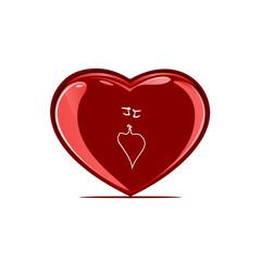love kiss heart