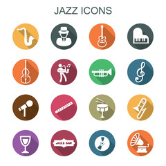 jazz long shadow icons