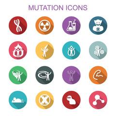 mutation long shadow icons