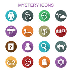 mystery long shadow icons