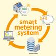 Smart meter diagram, vector - 76287233