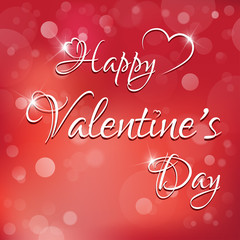 Happy Valentine's Day - greeting card,vector