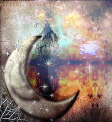 Magic moon of the fables