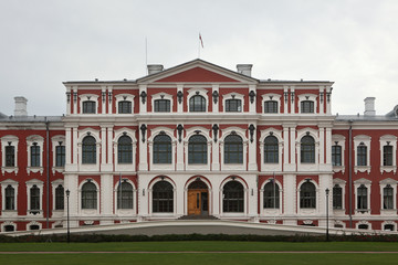 Jelgava Palace also known as Mitava Palace in Jelgava, Latvia.