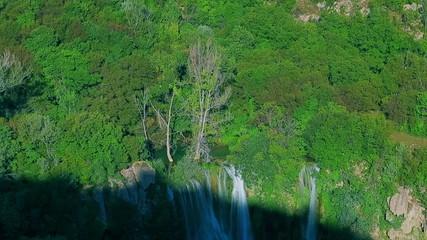 Manojlovac waterfall at Krka river