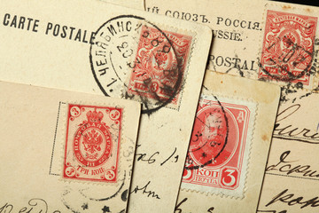 Tsar Alexander III of Russia depicted in Russian postage stamps.