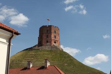 Gediminas Tower in Vilnius, Lithuania.