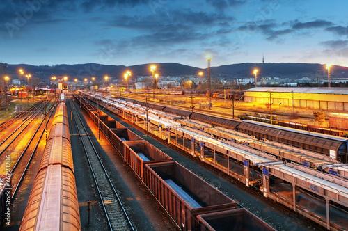 Freight trains - Cargo transportation